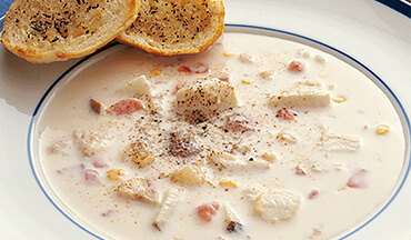 This hearty Walleye Chowder Recipe is the perfect meal after a hard day of winter fishing – grab a chunk of bread, fill a glass of wine and savor the day.