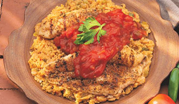 This delicious walleye recipe is made with both a marinade and a rub, giving it a sweet and spicy flavor.