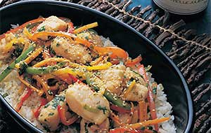 Make this Stir-fry Catfish Recipe your own by incorporating your favorite vegetables.