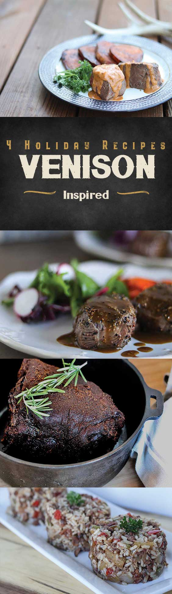 4 holiday venison recipes