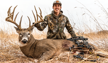 Leo Van Beck had good options for hunting this huge Minnesota whitetail on private ground.