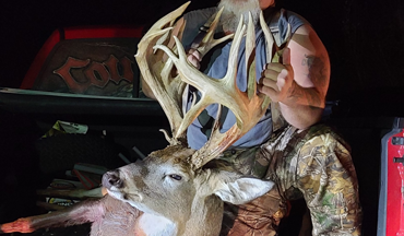 An afternoon that wasn't initially reserved for bowhunting produced a result that Phillip Pless won't soon forget.
