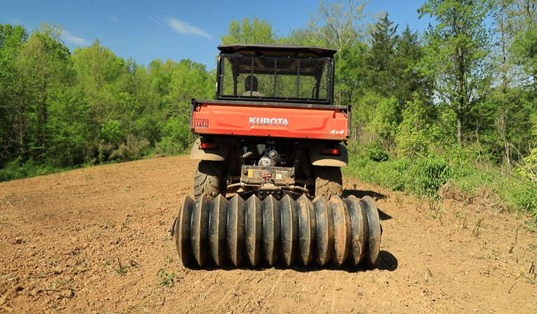 Planting Food Plots With Small Equipment