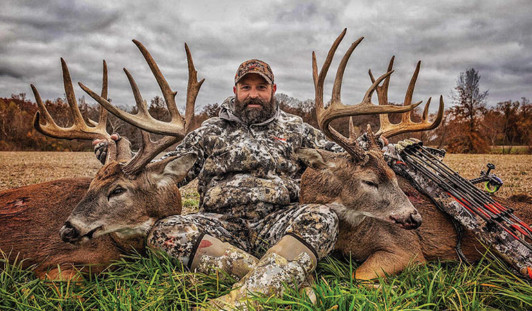2 Illinois Trophy Whitetails in 18 Hours