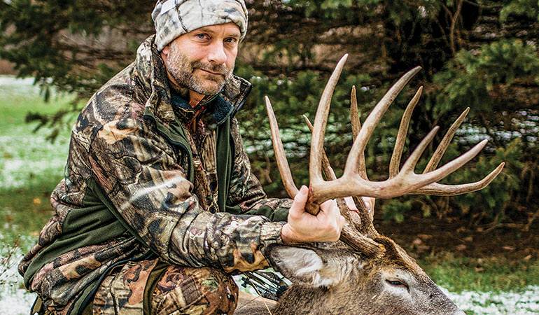 Wisconsin Record Archery Buck: Arrowed from the Ground