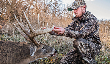 Keeping up with a single whitetail for several years takes dedication. But for Cody Butler, this Kansas trophy was well worth the time and effort.