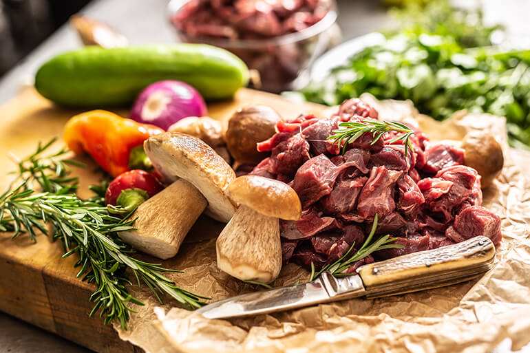 <p>Skip the take out and sweep your partner off their feet with one of these six mouthwatering venison recipes.</p>
