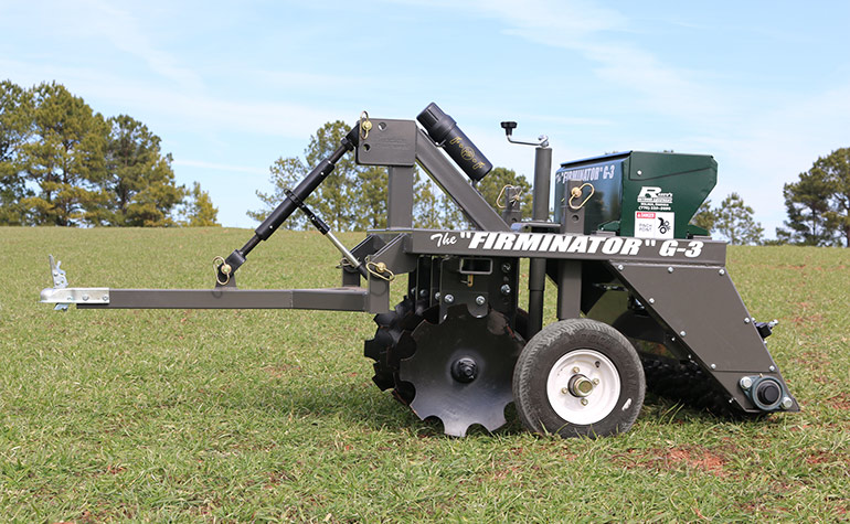 Fiminator G-3 in field