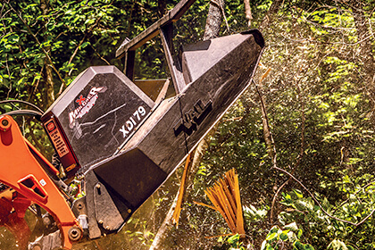 Thanks to new equipment options, deer food plots in the woods are easier now than ever before.