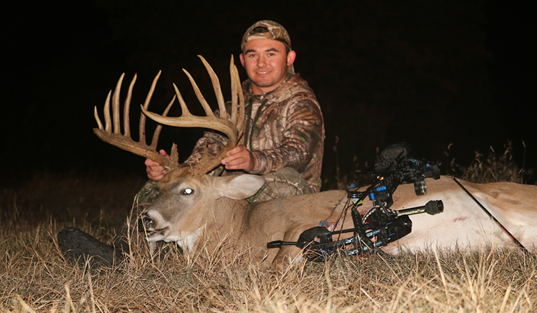 College Student Arrows Potential Oklahoma State Record Buck