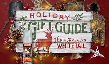Whitetail hunters everywhere hope their stockings will be stuffed with new deer gear!