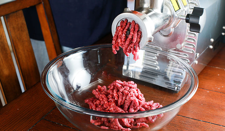 How to Grind Whitetail Deer Venison