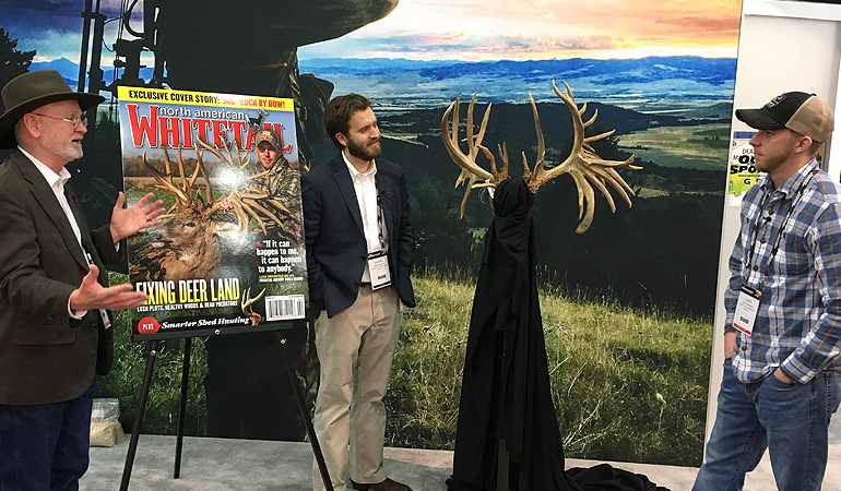 Brewster's 320-5/8-Inch Non-Typical Buck at ATA Show 2019