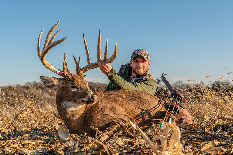Full Circle: Iowa Monster Buck Taken with Traditional Tackle