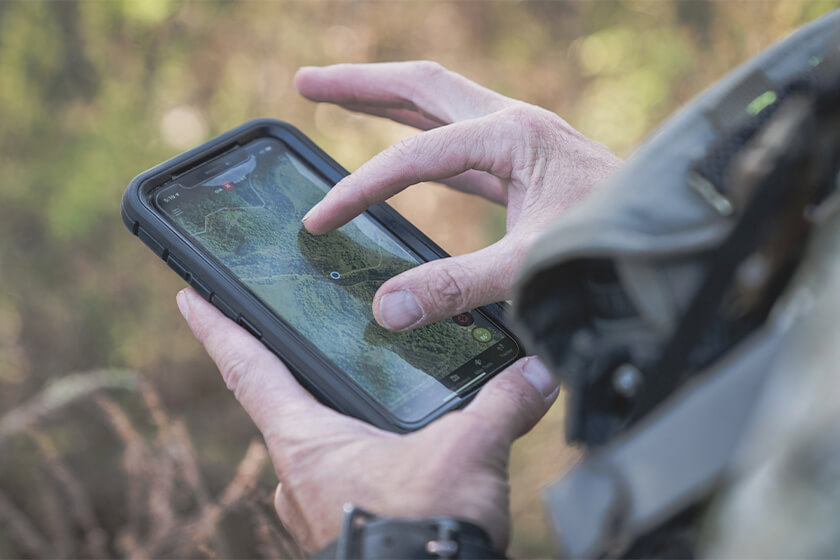 How to use the onX Hunt app to stay on top of white tail habitat changes