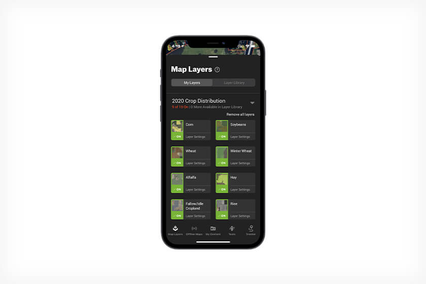 How to use the onX Hunt app to stay on top of changes to white tail habitat