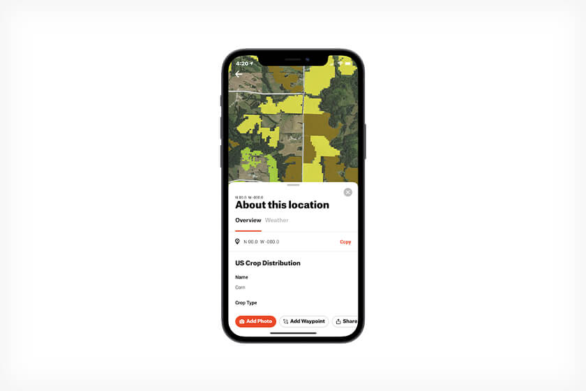 How to use the onX Hunt app to stay on top of Whitetail habitat changes