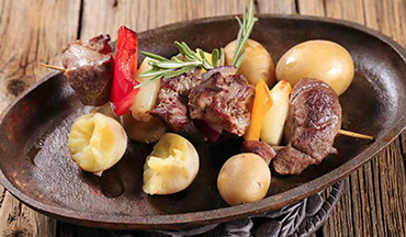 This delicious, easy-to-grill venison kabob recipe will make your mouth water just at the thought of it.