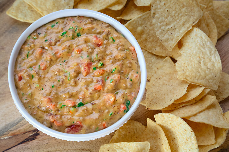 Venison Queso Dip Recipe