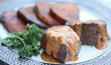 This Venison Steak Diane Recipe utilizes the pan juices to create a thick and flavorful sauce