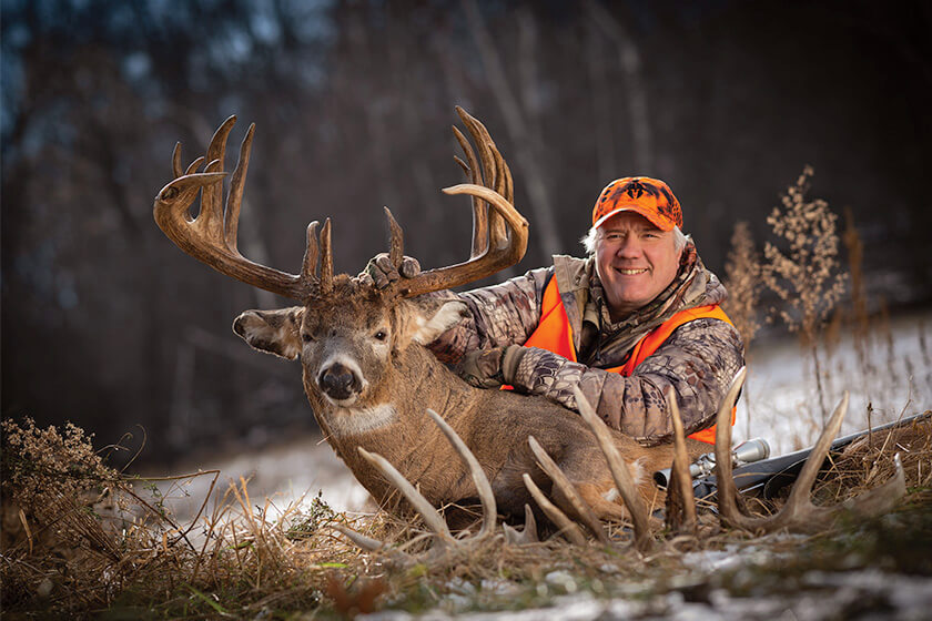 <p>Joe Pettis' 232-inch Wisconsin buck may end the myth of unicorns. </p>