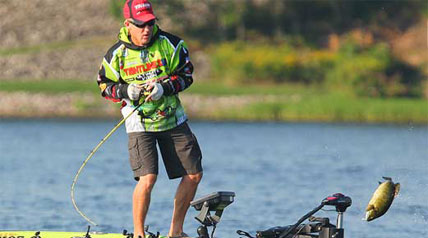 No one would blame Brent Chapman, Ott DeFoe or Todd Faircloth for wishing that the Bassmaster Elite Series season finale on New York's Oneida Lake would just get started.