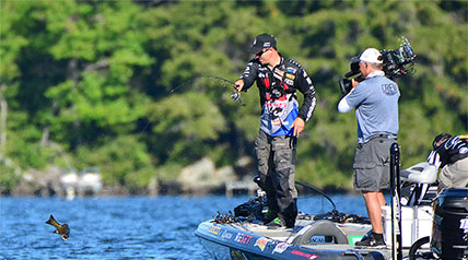 There have been some impressive performances in Major League Fishing competition; several of them have come during Sudden Death Round.