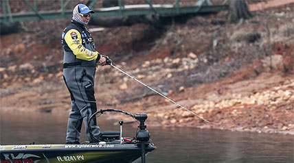 For two days in a row, Major League Fishing anglers set the standard at the top of the Bassmaster Classic leaderboard.