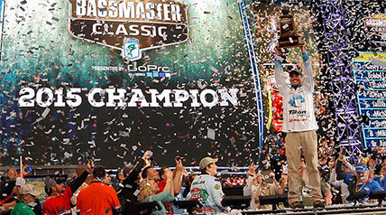South Carolina native Casey Ashley won the 45th Bassmaster Classic on Sunday evening after weighing in a five-fish limit that pushed the scales to 20 pounds, 3 ounces, the second heaviest bag limit of the 2015 event on Lake Hartwell.
