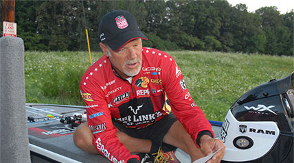 One of the tasks that I look forward to when working a Jack Link's Major League Fishing event is the chance to talk to Boyd Duckett, who along with Gary Klein, conspired to create the hottest thing going in competitive bass fishing.