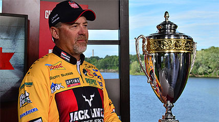 Select Qualifier Scott Suggs, the first angler to ever win a million dollars in a single tournament when he won the 2007 Forrest Wood Cup, became the first Select angler to win a Major League Fishing Cup event.