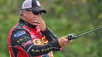 Qualifying Round 3 of the Major League Fishing 2016 Bass Pro Shops Challenge Select in Youngstown, Ohio, found its way back to Mosquito Creek Lake, where the first Qualifying Round was held.