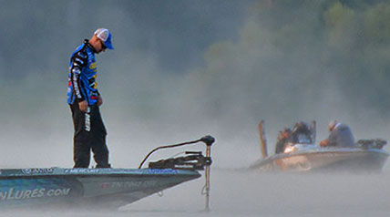 With the points race up for grabs and one final ticket to the 2016 Challenge Cup remaining, MLF officials moved Survival Round 2 competitors to a lake inside a gated community.