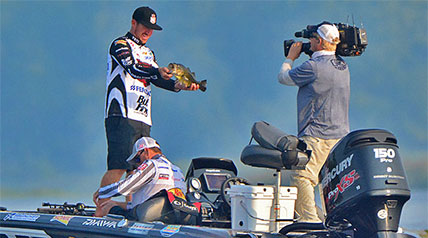 MLF pro Jacob Wheeler was able to take the lead early and hang on for the win with 36 pounds, 5 ounces.