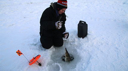 In the diverse world of outdoor sportsmen and women, few pray for cold as religiously as ice fishermen. No other sport is as dependent on bitter cold for its enthusiasts to just participate. But even for most ice fishermen there is a limit to how much cold they can stand.