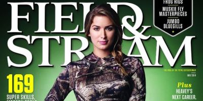 Eva Shockey only second women to grace cover of Field & Stream