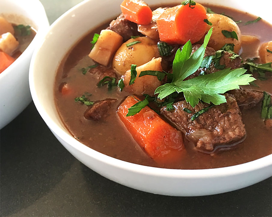 Antelope Venison Stew with Root Vegetables Recipe