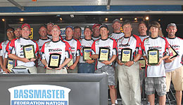 The 2011 B.A.S.S. Federation Nation Northern Divisional presented by Yamaha and Skeeter Boats is in the books. State honors went to Iowa, for the first time in almost 20 years. Individual honors were earned by Greg Heindselman fishing for the Illinois State Team.