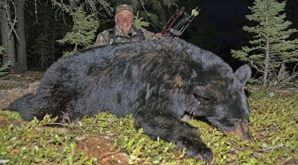 There's an unofficial, official rule in North Saskatchewan: There is no crying in bear hunting.