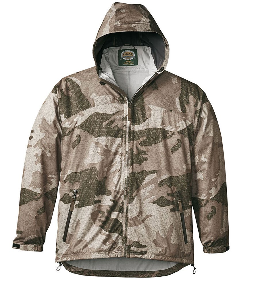 Cabela's Men's Space Rain Full-Zip Jacket with 4MOST DRY-PLUS