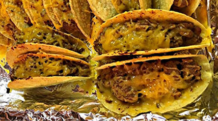 Tacos, the hunters way. Lee and Tiffany Lakosky share their easy taco recipe that'll have you needing a siesta.