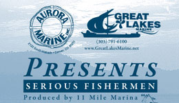 Aurora Marine and Great Lakes Marine are presenting the 12th Annual Serious Fishermen Team Pike Tournament, produced by the 11 Mile Marina and hosted by Eleven Mile State Park, on Saturday, Sept. 10.