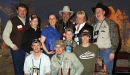 Amateur and professional elk callers from eight states—California, Colorado, Idaho, Montana, Nevada, Oregon, Utah and Washington—have earned medals in the RMEF/Leupold World Elk Calling Championships for 2010.