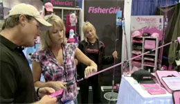Joe Thomas talks with Dawn Jewell from FisherGirl, whose goal is to introduce girls and women into the sport of fishing at an affordable price point.
