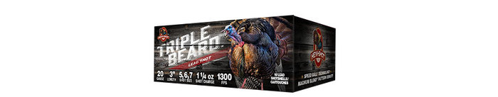 HEBI SHOT Triple Beard Lead Turkey Load