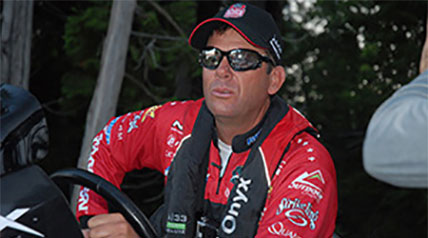 When Kevin VanDam's rig pulled off the busy Interstate highway and into the host hotel parking lot in Waterville, Maine, it was all but impossible for anglers, writers and spectators alike to not turn and look.