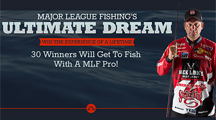 Would you like to actually fish with a Major League Fishing angler?