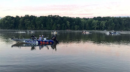 The Major League Fishing GEICO Select series made its way this week to historic Youngstown, Ohio, where the popular television show is filming its second event of the season.