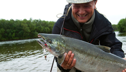 Salmon fishing in all ocean areas on Washington's coast open 7 days a week starting July 23