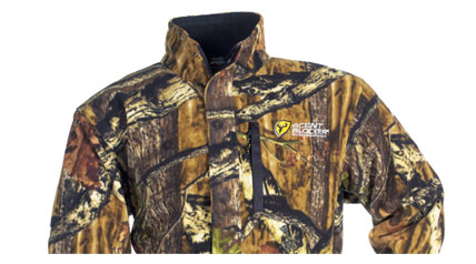 The ScentBlocker Bone Collector ProTec XT Jacket is made from soft, quiet 100% polyester fleece fabric for premium warmth and comfort on cold-weather hunts. The outer surface of the fabric is treated with an anti-pill finish to ensure long-lasting wear.